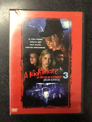 A Nightmare on Elm Street 3 Dream Warriors DVD for Sale in Griswold, CT