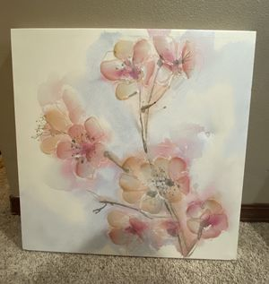 Flower Canvas for Sale in Everett, WA