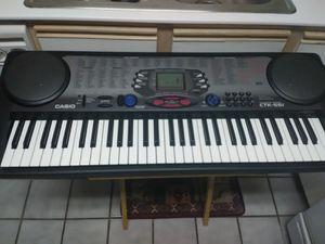 CASIO CTK-551 Midi Music Keyboard - 61 Key Piano Touch Response - Making Beats for Sale in Las Vegas, NV