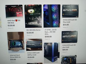 Gaming PC and Parts.. for Sale in Miami, FL