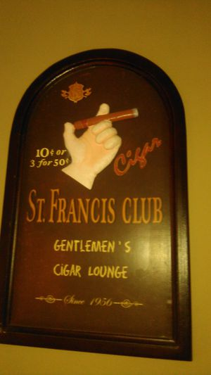 Cool cigar sign for Sale in Raleigh, NC