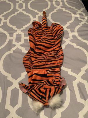 Dog Tiger Costume Size Medium for Sale in Covina, CA