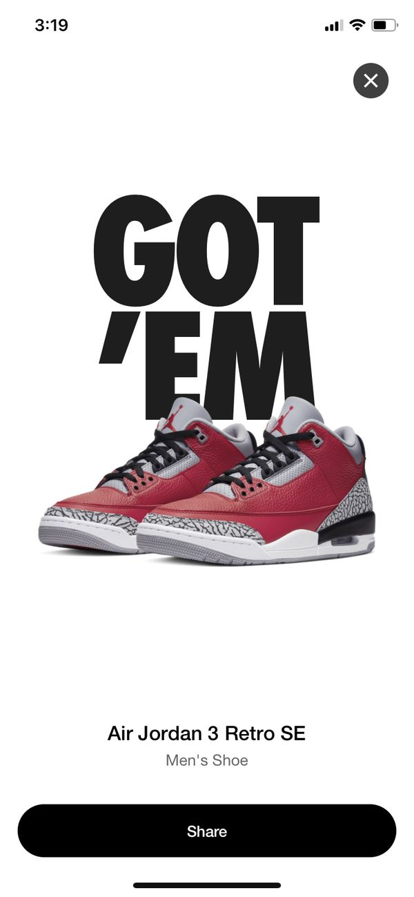 Nike Air Jordan Retro Fire Red Cement Size 13