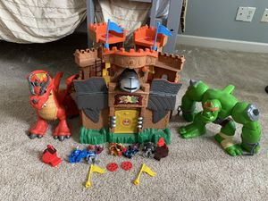 Imaginext castle for Sale in Rockledge, FL