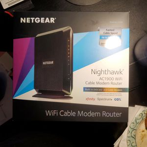 Netgear Nighthawk AC1900 Cable Modem Router for Sale in Cape Coral, FL