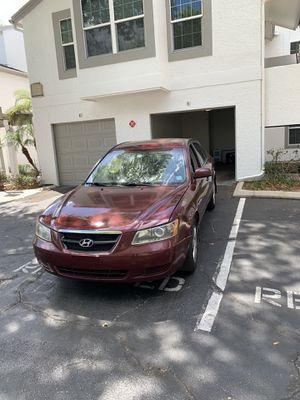 Hyundai Sonata 2007 parts only for Sale in Orlando, FL