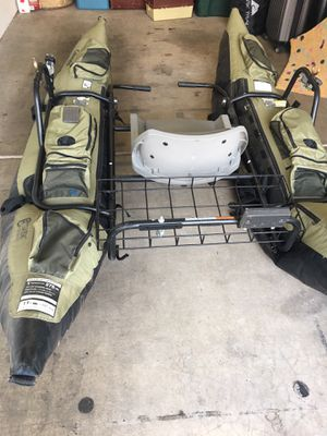 The Colorado one man pontoon boat by Classic Accessories for Sale in Phoenix, AZ