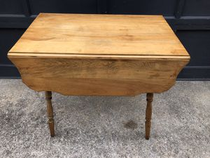 Small kitchen Dropleaf table, maple for Sale in Wareham, MA