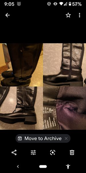 Women fashion boots 8 1/2 for Sale in Buffalo, NY