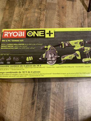 Ryobi 6 pc combo kit for Sale in Jamaica Plain, MA