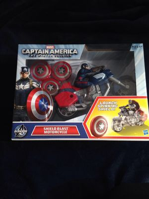 New Marvel Captain America Shield Blast Motorcycle Avengers for Sale in Vancouver, WA