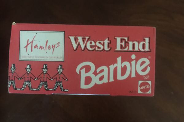 Hamleys Special Edition West End Barbie. Hamleys is the oldest & largest toy store in London.
