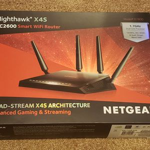 NetGear Nighthawk X4S Smart WiFi Router Ac2600 Gaming & Streaming - Like New! for Sale in Altadena, CA