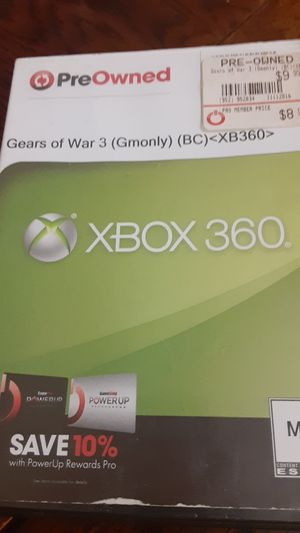 Gears of war 3 Xbox360 for Sale in Grand Saline, TX