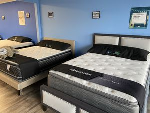 King & Queen Mattresses - Price Varies Per Model for Sale in Levittown, PA