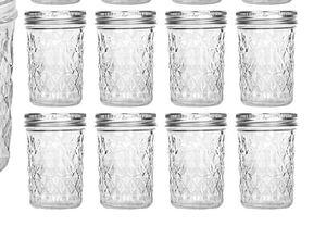 Mason Jars 8 OZ, VERONES 8 OZ Canning Jars Jelly Jars With Regular Lids for Sale in Bakersfield, CA
