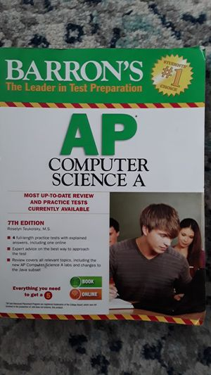 AP computer science Book for Sale in Renton, WA