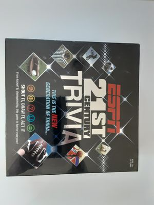 21st Century ESPN TRIVIA BRAND NEW SEALED BOX for Sale in Gaithersburg, MD