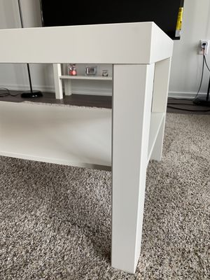 IKEA white coffee table for Sale in McLean, VA