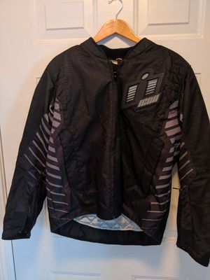 Like New Medium Icon Wireform Motorcycle Jacket for Sale in Oldsmar, FL