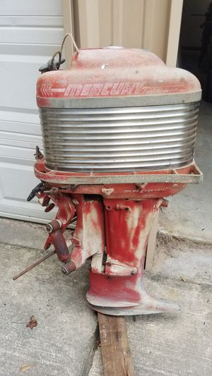 Vintage Mercury Thunderbolt Outboard motor for Sale in Spring, TX