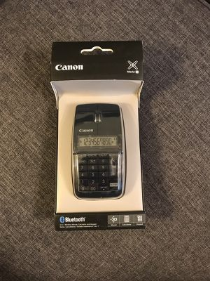 Black Canon Bluetooth 3-in-1 wireless mouse, calculator, keypad for Sale in Eureka, MO