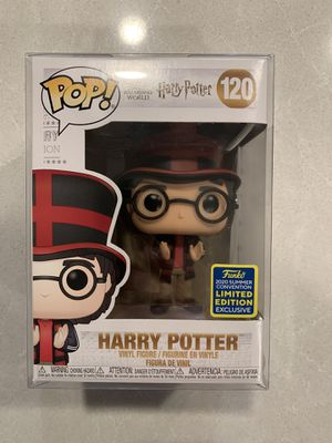 Harry Potter World Cup Funko Pop *MINT* 2020 SDCC Convention Exclusive England/UK Wizarding World 120 with protector for Sale in Lewisville, TX