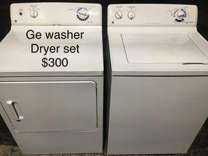 Ge washer dryer / lavadora y secadora for Sale in Miami, FL
