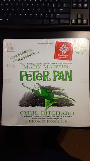 Mary Martin / Peter Pan Vinyl Record for Sale in Montgomery, IL