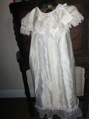 Vintage Christening Gown or Halloween Costume Prop for Sale in St. Petersburg, FL