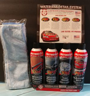 WATERLESS DETAIL SYSTEM for Sale in Garland, TX