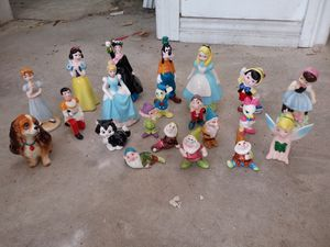 Disney porcelain characters for Sale in Houston, TX