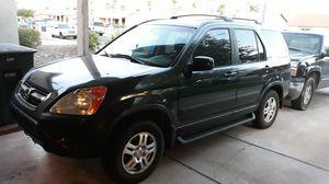 2003 HONDA CRV EX 4WD. GOOD TIRES. VERY CLEAN INSIDE. 160K MILES. CLEAN TITLE for Sale in Phoenix, AZ