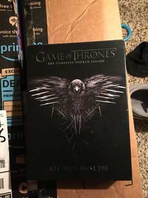 Game of thrones complete season 4 for Sale in Victoria, TX