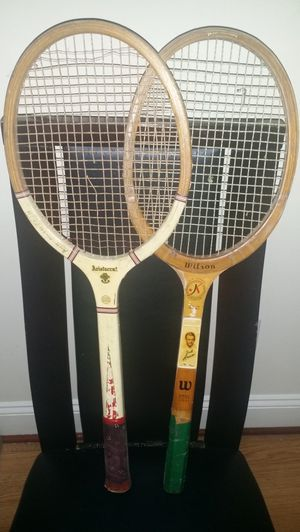 Vintage Wooden tennis rackets for Sale in Baltimore, MD