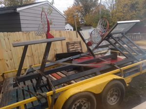 3 Commercial Basketball hoops for Sale in Cleveland, OH