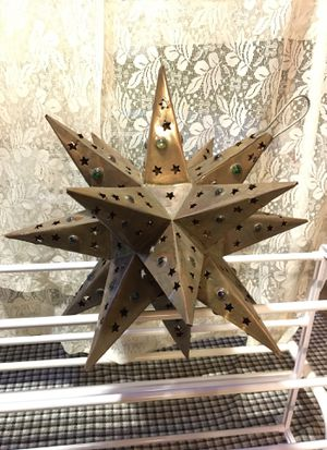 Candle holder star for Sale in Watertown, MA