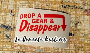Drop a gear and disappear vinyl sticker decal for Sale in Phoenix, AZ