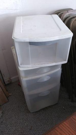 Plastic drawers for Sale in San Antonio, TX