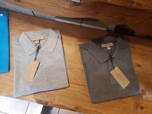 Mens Burberry polo *XL& 2XL* for Sale in Long Beach, CA