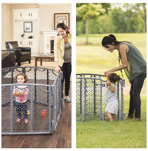Indoor/Outdoor Gate/Play Space