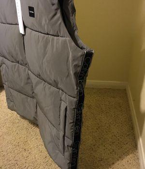Men's Calvin Klein vest jacket (water resistant) brand new sizes ( S & M & XL & XXL ) for Sale in Santa Clarita, CA