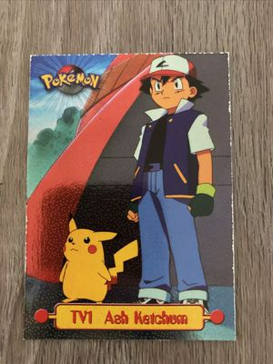 Topps Pokemon Movie Ash Ketchum Foil SP TV1 1999 for Sale in Haines City, FL