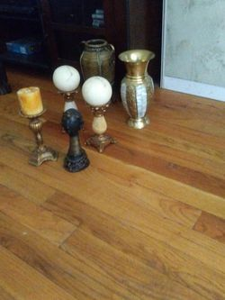 African Vase And Candle Holders for Sale in Boston,  MA