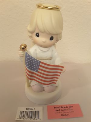 Patriotic Themed Precious Moments Porcelain Figurines for Sale in Brown Deer, WI