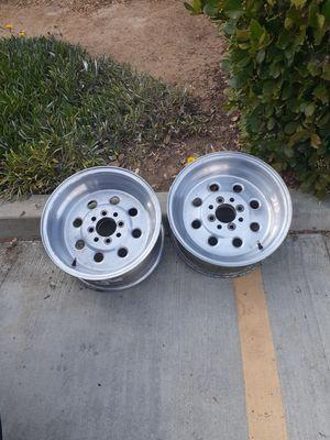 Weld Draglite Racing Wheels 4 Lug For Fox Body Mustang for Sale in Chula Vista, CA