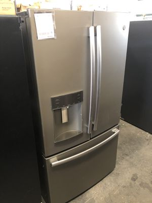 GE Matte Stainless Steel Finish ENERGYSTAR Certified 27.8 Cu. Ft. French-Door Refrigerator for Sale in Tampa, FL