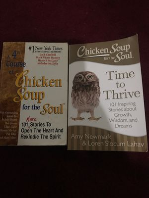 Chicken soup book for Sale in Santa Ana, CA