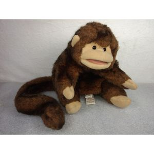 "Folkmanis Folktails FUZZY SOFT MONKEY CHIMP HAND PUPPET 9"" Plush STUFFED ANIMAL for Sale in Garland, TX"