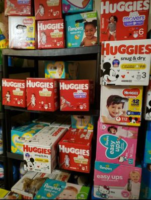 Baby diapers & clothing detergent for Sale in Atlanta, GA